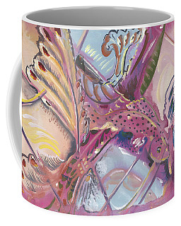 Fish Feathers Coffee Mug
