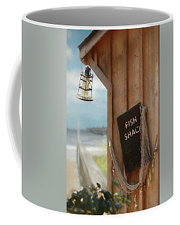 Coffee Mug featuring the photograph Fish Fileted by Lori Deiter