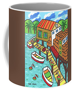 Fish House-cedar Key Coffee Mug