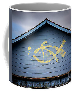 Fish House Coffee Mug by Perry Webster