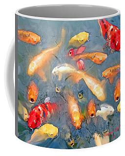 Fish In A Lake Coffee Mug