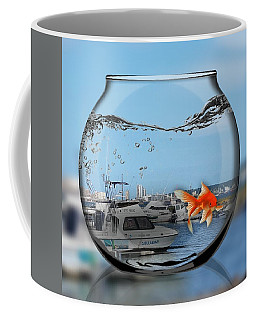 Fish In Bowl Coffee Mug