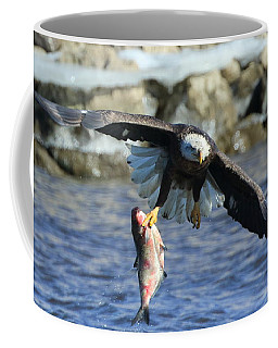 Fish In Hand Coffee Mug