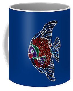 Fish In Water Coffee Mug