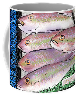 Fish Market Coffee Mug
