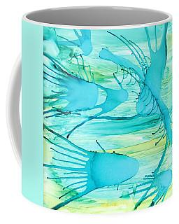 Coffee Mug featuring the painting Fish N Shrimp by Deborah Boyd