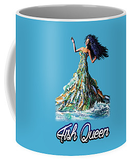 Fish Queen Coffee Mug