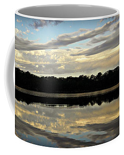 Coffee Mug featuring the photograph Fish Ring by Chris Berry