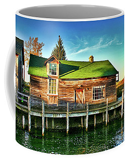 Fish Town Shanty  Coffee Mug