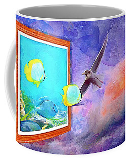 Fish Wish Coffee Mug by Wayne Pascall