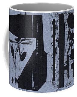 Fisher Covers Reverse White On Black Coffee Mug