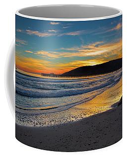 Fisherman At Sunset Coffee Mug