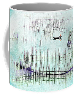 Fisherman Fishing  Coffee Mug