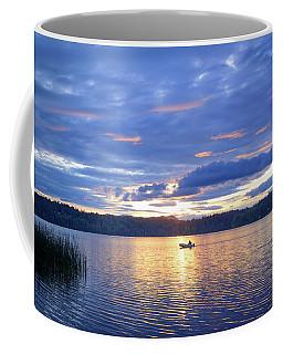 Fisherman Heading Home Coffee Mug by Keith Boone