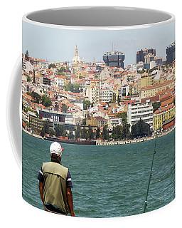Fisherman In Lisbon Coffee Mug