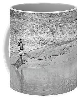 Fisherman On The Lower Ganges Coffee Mug