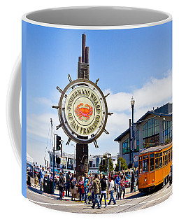 Fishermans Wharf - San Francisco Coffee Mug
