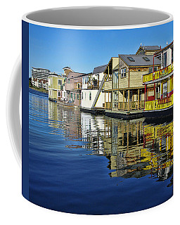 Fisherman's Wharf Coffee Mug by Marilyn Wilson