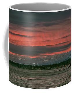Coffee Mug featuring the photograph Fishermans Wharf Sunrise by Randy Hall