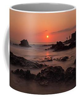 Fishermen At Sunset Coffee Mug