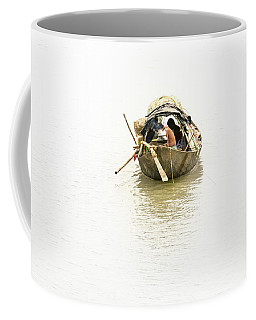 Fishermen On The Lower Ganges Coffee Mug