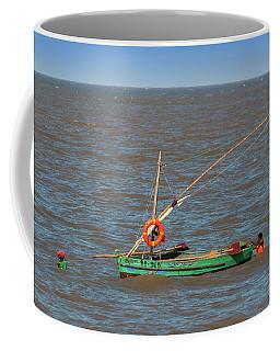 Fishermen Pulling Boat Coffee Mug