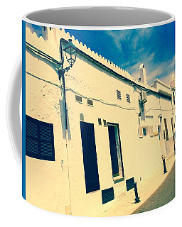 Fishermens' Cottages In Cuitadella Coffee Mug