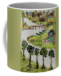 Fishermen's Village Coffee Mug