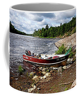 Fishing And Exploring Coffee Mug