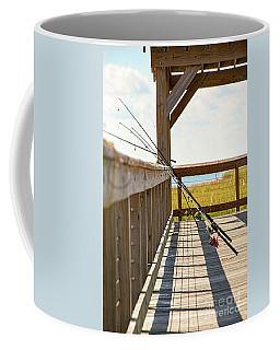 Fishing At Shem Creek Coffee Mug