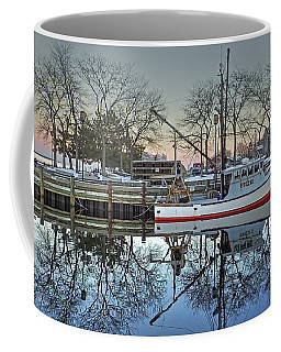 Fishing Boat At Newburyport Coffee Mug