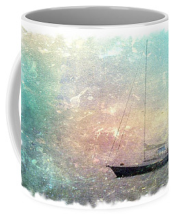 Fishing Boat In The Morning Coffee Mug
