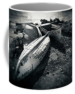 Fishing Boats At The Old Port Coffee Mug