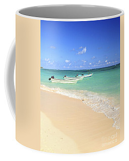 Fishing Boats In Caribbean Sea Coffee Mug
