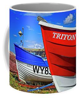 Fishing Boats Saltburn-by-the-sea Coffee Mug