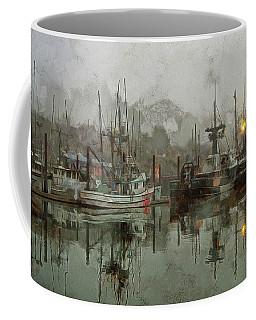 Fishing Fleet Dock Five Coffee Mug