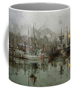 Fishing Fleet Dock Five Coffee Mug