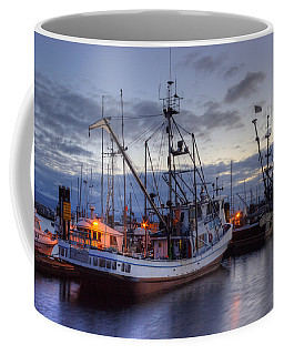 Fishing Fleet Coffee Mug by Randy Hall