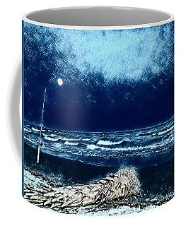 Fishing For The Moon Coffee Mug