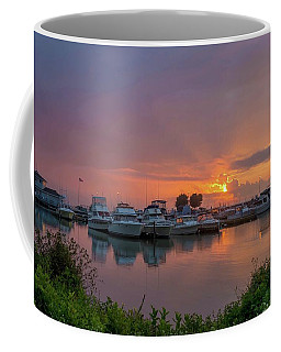 Fishing Harbor Coffee Mug