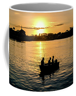 Fishing In Auckland Coffee Mug