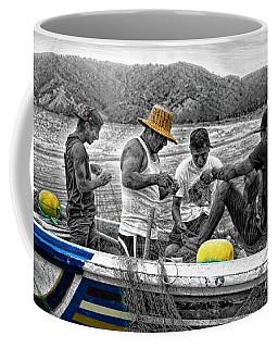 Fishing In Puerto Lopez Coffee Mug