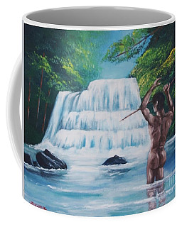 Fishing In The River Coffee Mug