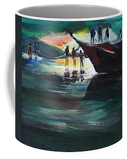 Fishing Line Coffee Mug