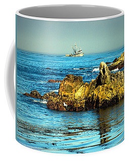 Fishing Monterey Bay Ca Coffee Mug