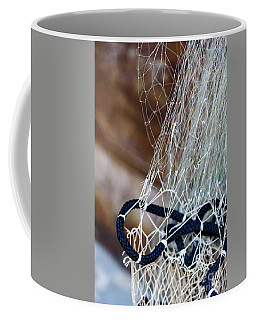 Fishing Net Details - Rovinj, Croatia Coffee Mug