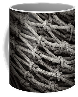 Fishing Nets Coffee Mug by Clare Bevan