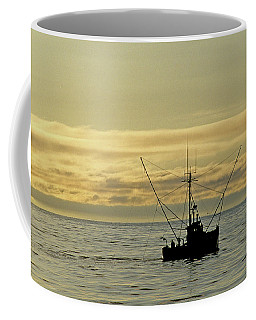 Fishing Off Santa Cruz Coffee Mug
