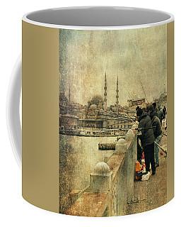 Fishing On The Bosphorus Coffee Mug