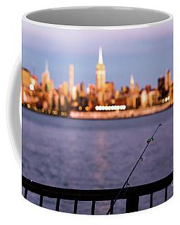 Fishing On The Hudson Coffee Mug